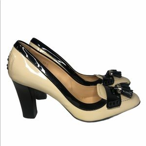 Tods Leather Heels Patent Leather